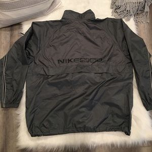 Nike Jackets & Coats - Vintage Nike Gray Zip Up Mesh Lined Windbreaker